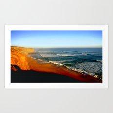 Australia's Southern Coastline Art Print