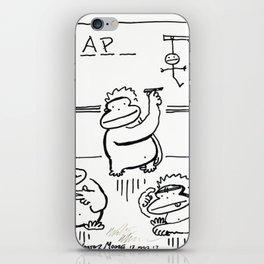 Apes Play Hangman iPhone Skin