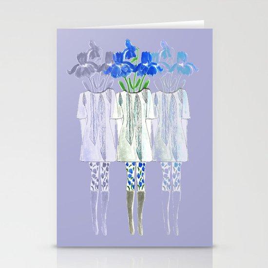 Iris Illustration Stationery Cards