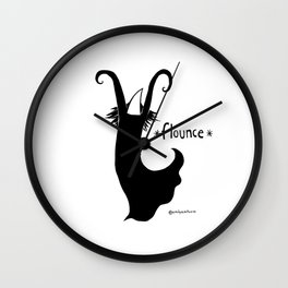 Flounce Wall Clock