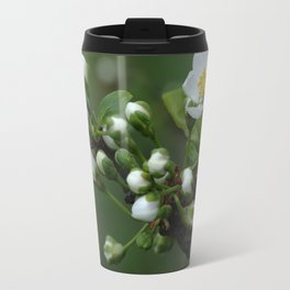 Plum tree flower buds 2 Travel Mug