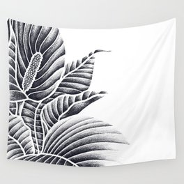 Peace Lily Wall Tapestry