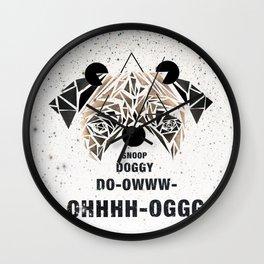 Snoop Dogg pug Wall Clock