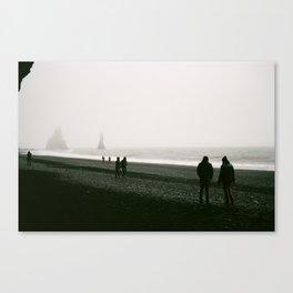 Black Sand Beach, Vík Canvas Print