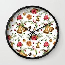 Christmas dreams Wall Clock