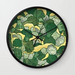 Broccoli & Cauliflower Wall Clock