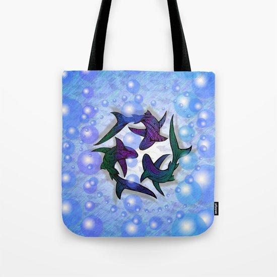 SHARK CIRCLE Tote Bag