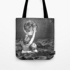 UNDER SAPPHO'S MOON Tote Bag