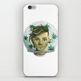 WEED AQUARIUM iPhone Skin