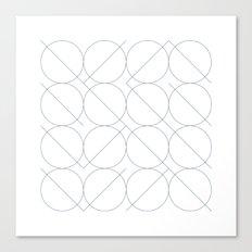 #531 I/O – Geometry Daily Canvas Print