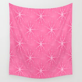Pink Twinkles Wall Tapestry
