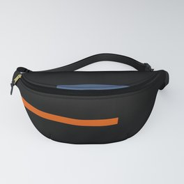 Abstract Minimal Retro Stripes Vinyasa Fanny Pack