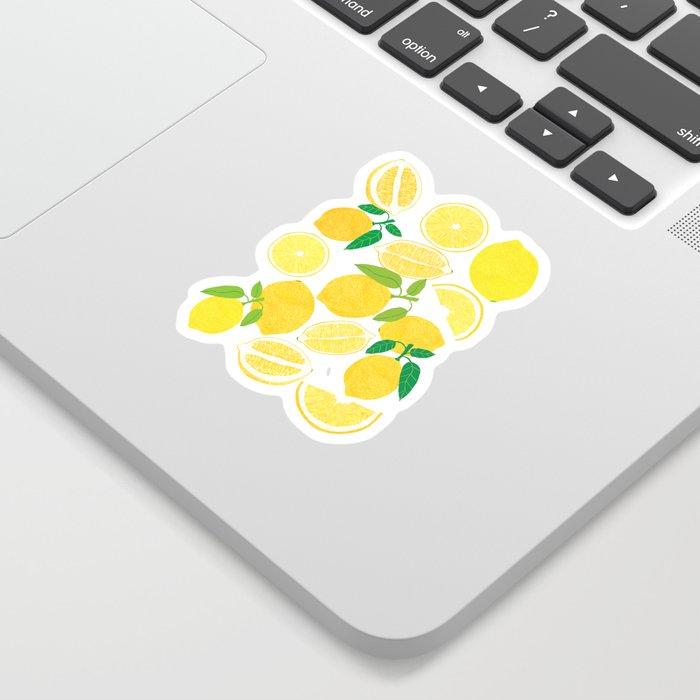 Lemon Harvest Sticker