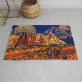 Picture Grand Canyon Park USA Arizona Cliff Nature canyons Mountains Parks Sunrises and sunsets Rock Crag Canyon mountain park sunrise and sunset Rug
