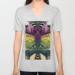 Vulture (Debbie Harry of Blondie) pop art Unisex V-Neck
