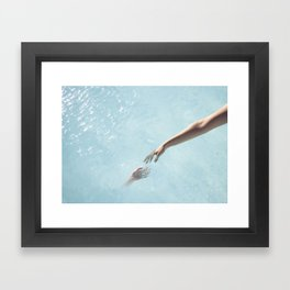 my soul will find yours Framed Art Print