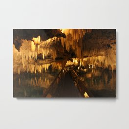 Bermuda Crystal Caves Metal Print