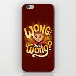 Just Wong iPhone Skin
