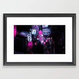 Tokyo Nights / Memory Lane / Liam Wong Framed Art Print