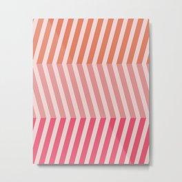Modern Grids Metal Print