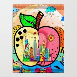 Big APPLE by Nico Bielow Poster