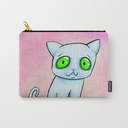 Ghost-cat Carry-All Pouch