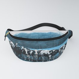 Cow collection still in a waiting process Fanny Pack