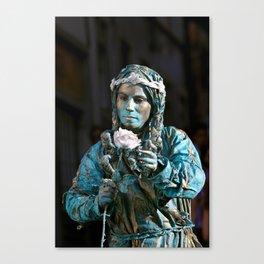live statue Canvas Print