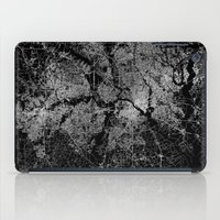 dallas iPad Cases featuring Dallas map Texas by Line Line Lines