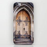 doors iPhone & iPod Skins featuring Doors by JMcCool