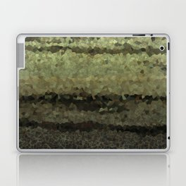 Wood and stone layers abstract pattern Laptop & iPad Skin