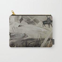Seek- Landscape Shadowbox Detail Carry-All Pouch