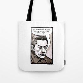 Peter Stillman Tote Bag