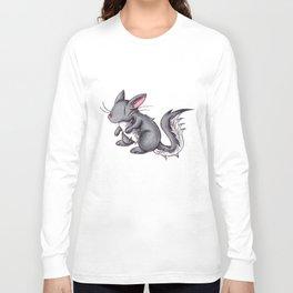 Silver Puffball Long Sleeve T-shirt