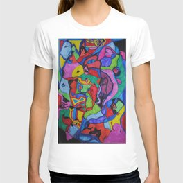 Magic bubble creatures T-shirt