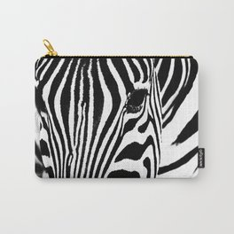 Zebra close up Carry-All Pouch