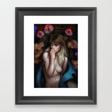 A place I made up Framed Art Print