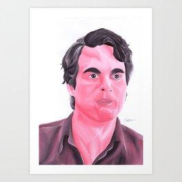 Bruce Banner Art Print