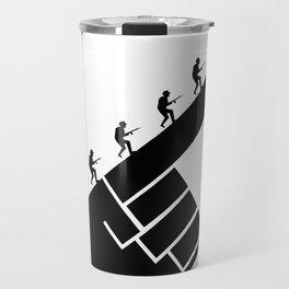 To the arms! Travel Mug