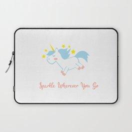 Sparkling Unicorn Laptop Sleeve