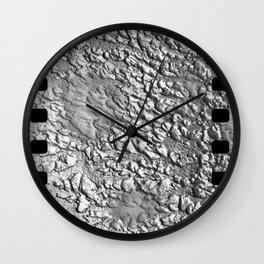 B&W film Wall Clock