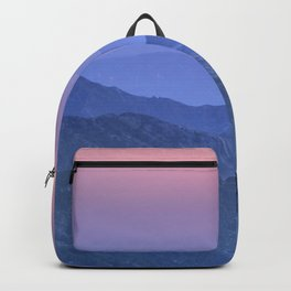 """""""Mountain dreams II"""". At sunset. Backpack"""