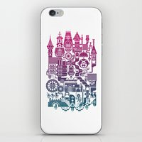 castle iPhone & iPod Skins featuring Castle Mama by C86 | Matt Lyon