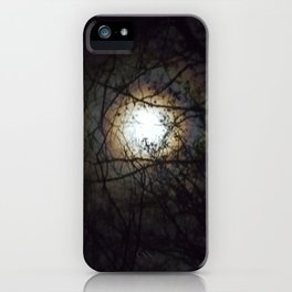 Moon Bow Supermoon  Oct 2016 iPhone Case