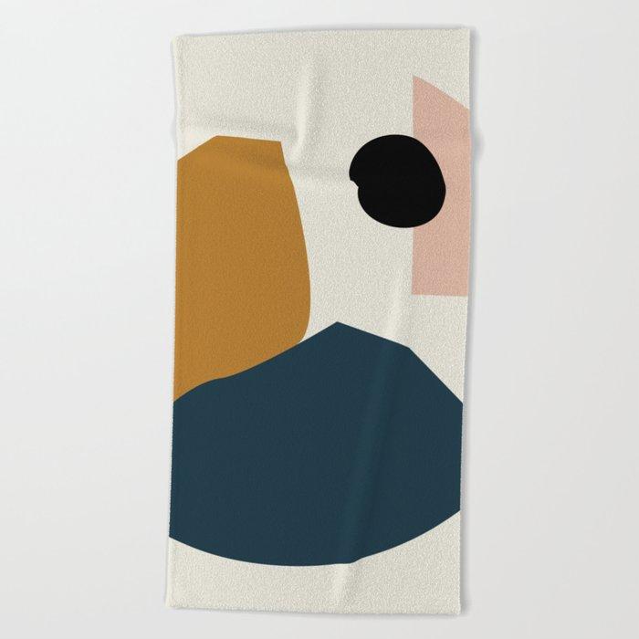 Shape study #1 - Lola Collection Beach Towel
