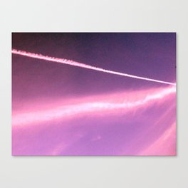 Blotchiness in sky Canvas Print