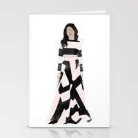 dress Stationery Cards featuring Dress by Maryam Toorani