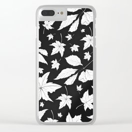 Feuilles Clear iPhone Case