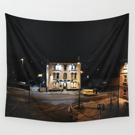 Derby local motel Wall Tapestry