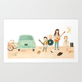 The Band by Emily Winfield Martin Art Print